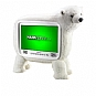 Alternate view 1 for Hannspree ST19PMUW 19&quot; Polar Bear LCD HDTV