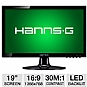 "Alternate view 1 for HannsG HL190ABB 19"" Class Widescreen LED Monitor"