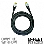 Alternate view 1 for Intec G5222 PS3/ Xbox 360 HDMI Cable