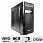 Alternate view 1 for iBUYPOWER TG511 FX-4100, 8GB, 1TB HDD Gaming PC