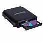 Alternate view 1 for Kanguru QS2 24x External Optical Drive - Black