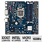 Micro ATX, Socket H2 (LGA1155), Intel H77 Express, 1600MHz DDR3, SATA III (6Gb/s), RAID, 10-CH Audio, Gigabit LAN, USB 3.0, PCIe 3.0