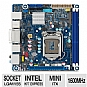 Mini-ITX, Socket H2 (LGA1155), Intel H77 Express, 1600MHz DDR3, SATA III (6Gb/s), RAID, 10-CH Audio, Gigabit LAN, USB 3.0, PCIe 3.0