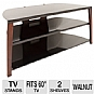 Alternate view 1 for Cravin TDIIX50W 50in wide Metal Glass TV Stand
