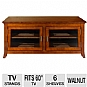 Alternate view 1 for Cravin TDLAP50 walnut finish TV Credenza