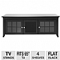 Alternate view 1 for Cravin TDERC60B 60in Black A/V Credenza
