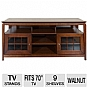 Alternate view 1 for Cravin TDYAB6028 Walnut Finish AV HDTV Credenza