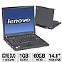 Alternate view 1 for Lenovo ThinkPad T60 Notebook PC (Off-Lease)