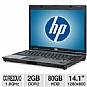 "HP Compaq 6910p Notebook PC - Intel Core 2 Duo 1.8GHz, 2GB DDR2, 80GB HDD, DVDROM, 14.1"" Display, Windows 7 Home Premium (Off-Lease)"