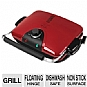 "Alternate view 1 for George Foreman G5 Grill 84"" Sq Multi-Plate Grill"