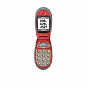 Jitterbug J SPHA310ZRA Pre Paid Cell Phone - Bluetooth, Caller ID Enabled, Large Keypad, Red