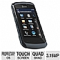 LG Encore GT550 Unlocked Cell Phone - Touchscreen, 3.15MP Camera, microSD, microUSB, Voice Memo, Black