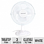 Alternate view 1 for Kaz HT-1209 Personal Oscillating Tabletop Fan