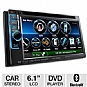 Alternate view 1 for Kenwood In-Dash 2-DIN Head Unit Car Stereo