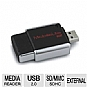 Alternate view 1 for Kingston FCR-MLG2 MobileLite G2 USB 2.0 Multi-card
