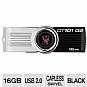 Kingston 101 DT101G2/16GBZ DataTraveler G2 Flash Drive - 16GB, USB 2.0, Black