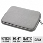 Alternate view 1 for Dicota PerfectSkin Color Notebook Sleeve Gray