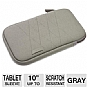 "Alternate view 1 for Dicota 10"" Gray TabSkin Sleeve for Tablets"