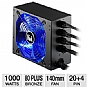 Alternate view 1 for Kingwin ATX Modular 80 Plus Bronze 1000W PSU