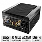 Alternate view 1 for Kingwin Stryker Fanless 500W 80 Plus Platinum PSU