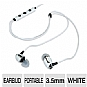 Klipsch Image S4i In-Ear Headset - Mic, 3 Button Remote, White