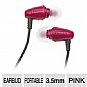 Alternate view 1 for Klipsch 1012135 Image S3 Pink Earbuds