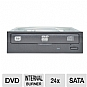 Lite-On IHAS124-04 Internal DVD Writer - DVD+R 24X, DVD-R 24X, DVD+RW 8X, DVD-RW 6X, DVD+R DL 8X, SATA (OEM)