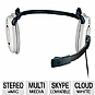 Alternate view 1 for Logitech H130 Noise-Canceling Mic On-ear Headset