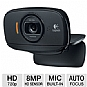 Logitech 960-000715 C525 HD Webcam - Autofocus, 8-Megapixel Snapshots, Built-in Microphone, RightLight 2 Technology, Fold-and-Go, Swivel Design
