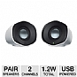 Alternate view 1 for Logitech Z110 Portable Stereo Speakers