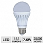 LG A19 7.5W LED Lightbulb, 40W Equivalent, Warm White, 485 Lumens, 3000 Kelvins, 83 CRI, 30,000 Hour Life