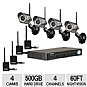 Alternate view 1 for Lorex LH114501C4WB Wireless Surveillance System