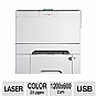 Alternate view 1 for Lexmark C546dtn Color Laser Printer Network/Duplex