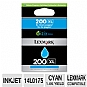 Alternate view 1 for Lexmark 200XL Cyan Ink Cartridge