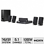LG BH6720S 3D Blu-ray Home Theater System - 5.1 Channel, 1000 Watts Total, Built-in Wi-Fi, HDMI, USB, Remote