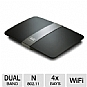 Linksys E4200 Maximum Performance Dual-Band N Router - up to 300 Mbps, 2.4/5.0 GHz, 4x Gigabit Ports, USB Port (Refurbished)