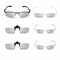 LG AG-F216 Cinema 3D Passive  Glasses Family Multi Pack  - 6 Pack