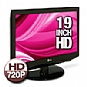 "LG 19LH20 19"" Widescreen LCD HDTV - 720p, 1366x768, 1000:1 Native, 8000:1 Dynamic, 5ms, 16:10, HDMI"