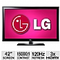 "Alternate view 1 for LG 42LK520 42"" 1080p 120Hz  LCD HDTV"