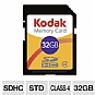 Alternate view 1 for Kodak KSD32GPSBNA 32GB SDHC Memory Card