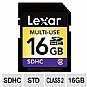 Alternate view 1 for Lexar 16GB SDHC Card