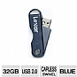Alternate view 1 for Lexar 32GB JumpDrive TwistTurn - LJDTT32GASBNA