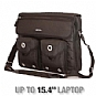 Alternate view 1 for MobileEdge MEEMB1 Messenger Laptop Bag, Black