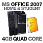Alternate view 1 for Gateway DX4710-07 Desktop PC MS Office Bundle
