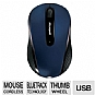 Microsoft 4000 D5D-00053 Mobile Mouse - Wireless, Wool Blue