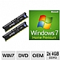 Alternate view 1 for Microsoft Windows 7 Home Premium 64BIT - OE Bundle