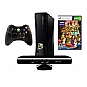 Microsoft Xbox 360 S4G-00001 4GB Console with Kinect - Kinect Sensor, Built-In Wi-Fi, Xbox LIVE, Wireless Controller, Kinect Adventures Game  (Refurbished)