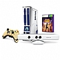 Microsoft XBOX 360 Limited Edition Kinect Star Wars Bundle - Includes Kinect Star Wars Game, Xbox 360 Console, Kinect Sensor, Wireless Controller, 320GB HDD, Wired Headset and Kinect Adv (Refurbished)