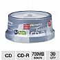 Alternate view 1 for Memorex 30-Pack 52X 700MB Printable CD-R Discs
