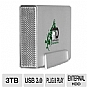 Alternate view 1 for Fantom Drive GreenDrive3 3TB External USB 3.0 HDD